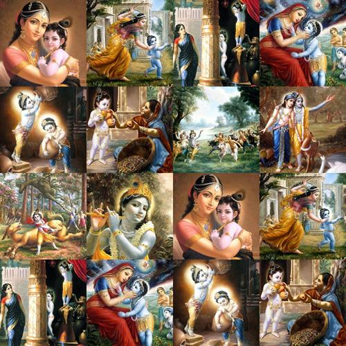 Lord Krishna Kids